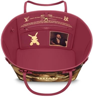 interno borsa vuitton collezione masters